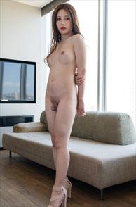 Beautiful Nude Transsexual Masem From Japan In Heels