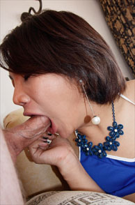 Darling Ladyboy Going Down To Suck On His Erect Cock